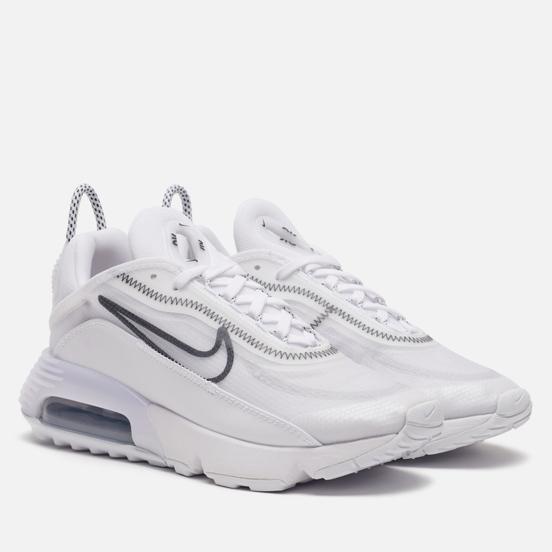 Женские кроссовки Nike Air Max 2090 White/Black/Wolf Grey