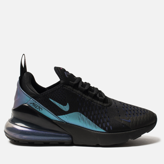 Женские кроссовки Nike Air Max 270 Black/Laser Fuchsia/Regency Purple