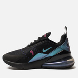 Женские кроссовки Nike Air Max 270 Black/Laser Fuchsia/Regency Purple фото- 2