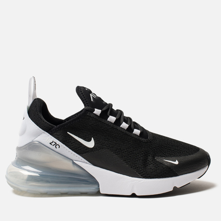 Женские кроссовки Nike Air Max 270 Black/White/Pure Platinum/White