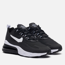 Женские кроссовки Nike Air Max 270 React Black/White/Black/Black фото- 0
