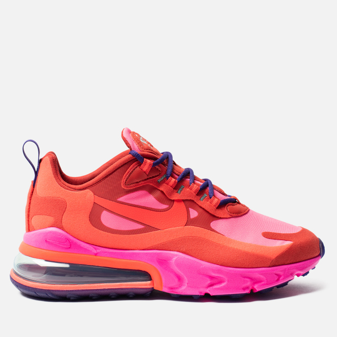 Женские кроссовки Nike Air Max 270 React Mystic Red/Bright Crimson/Pink Blast