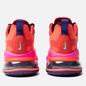 Женские кроссовки Nike Air Max 270 React Mystic Red/Bright Crimson/Pink Blast фото - 2