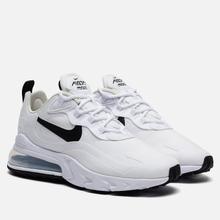 Женские кроссовки Nike Air Max 270 React White/Black/Metallic Silver фото- 0