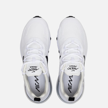Женские кроссовки Nike Air Max 270 React White/Black/Metallic Silver фото- 1