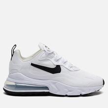 Женские кроссовки Nike Air Max 270 React White/Black/Metallic Silver фото- 3