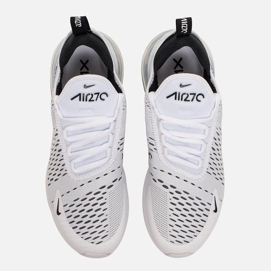 Женские кроссовки Nike Air Max 270 White/Black/White