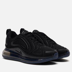 Женские кроссовки Nike Air Max 720 Black/Black/Black/Anthracite