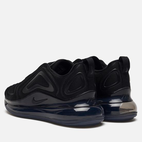 Женские кроссовки Nike Air Max 720 Black/Black/Black/Anthracite