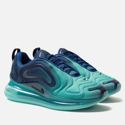 Женские кроссовки Nike Air Max 720 Deep Royal Blue/Black/Hyper Jade