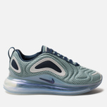 Женские кроссовки Nike Air Max 720 Metallic Silver/Midnight Navy фото- 0
