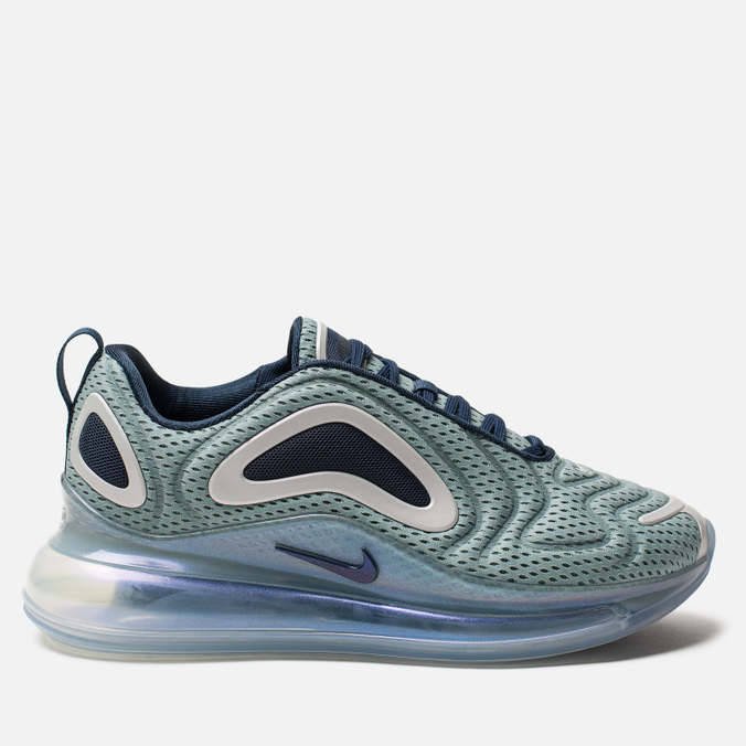 Женские кроссовки Nike Air Max 720 Metallic Silver/Midnight Navy