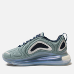 Женские кроссовки Nike Air Max 720 Metallic Silver/Midnight Navy фото- 1