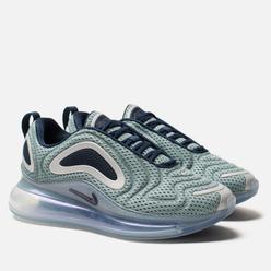 Женские кроссовки Nike Air Max 720 Metallic Silver/Midnight Navy