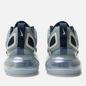 Женские кроссовки Nike Air Max 720 Metallic Silver/Midnight Navy фото - 2