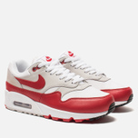 Женские кроссовки Nike Air Max 90/1 White/University Red/Neutral Grey/Black фото- 2