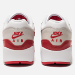 Женские кроссовки Nike Air Max 90/1 White/University Red/Neutral Grey/Black фото- 6