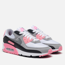 Женские кроссовки Nike Air Max 90 30th Anniversary White/Particle Grey/Rose/Black фото- 0