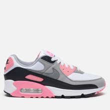 Женские кроссовки Nike Air Max 90 30th Anniversary White/Particle Grey/Rose/Black фото- 3