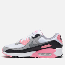Женские кроссовки Nike Air Max 90 30th Anniversary White/Particle Grey/Rose/Black фото- 5
