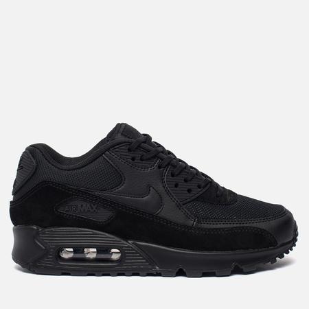 Женские кроссовки Nike Air Max 90 Black/Black/Black