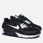 Женские кроссовки Nike Air Max 90 Essential Black/White/Metallic Silver фото- 1