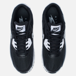 Женские кроссовки Nike Air Max 90 Essential Black/White/Metallic Silver фото- 4