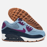 Nike Air Max 90 Essential Women's Sneakers Blue Grey/Bright Grape/Midnight Navy photo- 2