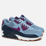 Женские кроссовки Nike Air Max 90 Essential Blue Grey/Bright Grape/Midnight Navy фото- 1