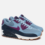 Nike Air Max 90 Essential Women's Sneakers Blue Grey/Bright Grape/Midnight Navy photo- 1