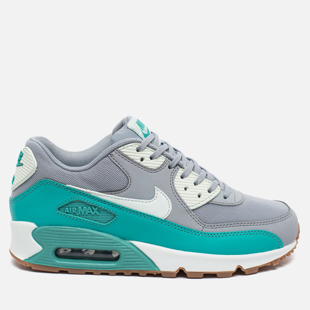 Женские кроссовки Nike Air Max 90 Essential Grey/Ghost Green/Dark Grey