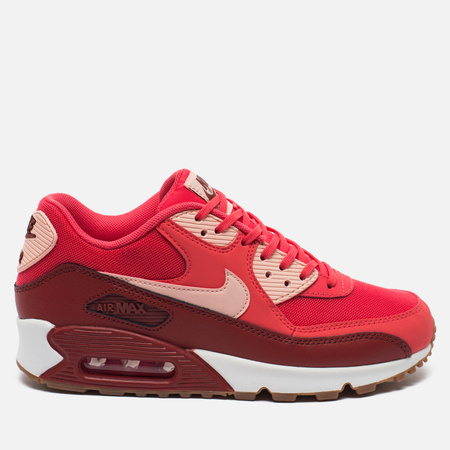 Женские кроссовки Nike Air Max 90 Essential Red/Vinous/White
