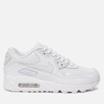 Женские кроссовки Nike Air Max 90 Leather White/White/White фото- 0