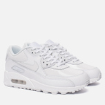 Женские кроссовки Nike Air Max 90 Leather White/White/White фото- 1