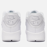Женские кроссовки Nike Air Max 90 Leather White/White/White фото- 3