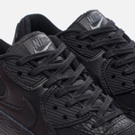 Женские кроссовки Nike Air Max 90 Premium Leather Black/Black/Dark Grey/Ivory фото- 5