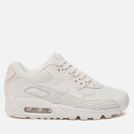 Женские кроссовки Nike Air Max 90 Premium Leather Sail/Sail/Light Bone/White