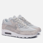 Женские кроссовки Nike Air Max 90 Pure Platinum/White/Metallic Silver фото- 1