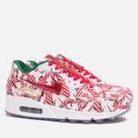 Женские кроссовки Nike Air Max 90 QS Gift Wrapped Pack White/University Red/Gold фото- 1
