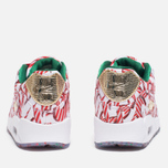Nike Air Max 90 QS Gift Wrapped Pack Women's Sneakers White/University Red/Gold photo- 3
