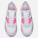 Женские кроссовки Nike Air Max 90 Ultra 2.0 Flyknit White/Concord/Laser Pink/Black фото- 4