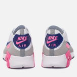 Женские кроссовки Nike Air Max 90 Ultra 2.0 Flyknit White/Concord/Laser Pink/Black фото- 5