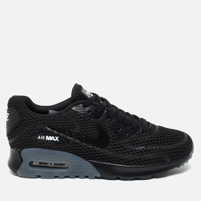 Женские кроссовки Nike Air Max 90 Ultra BR Black/Cool Grey