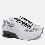 Женские кроссовки Nike Air Max 90 Ultra Print White/Black фото- 1