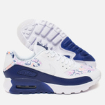 Женские кроссовки Nike Air Max 90 Ultra Print White/Dark Purple фото- 2