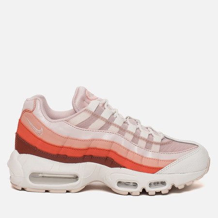 Женские кроссовки Nike Air Max 95 Barely Rose/Coral Stardust