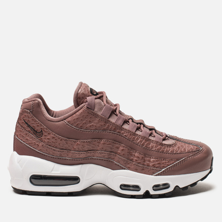 Женские кроссовки Nike Air Max 95 Leather Smokey Mauve/White/Black/Smokey Mauve