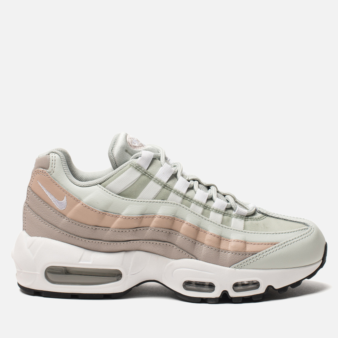 Женские кроссовки Nike Air Max 95 Light Silver/White/Moon Particle