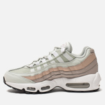 Женские кроссовки Nike Air Max 95 Light Silver/White/Moon Particle фото- 2