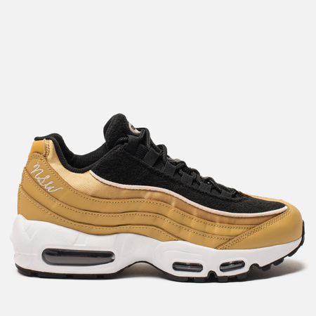 Женские кроссовки Nike Air Max 95 LX Wheat Gold/Wheat Gold/Black/Guava Ice